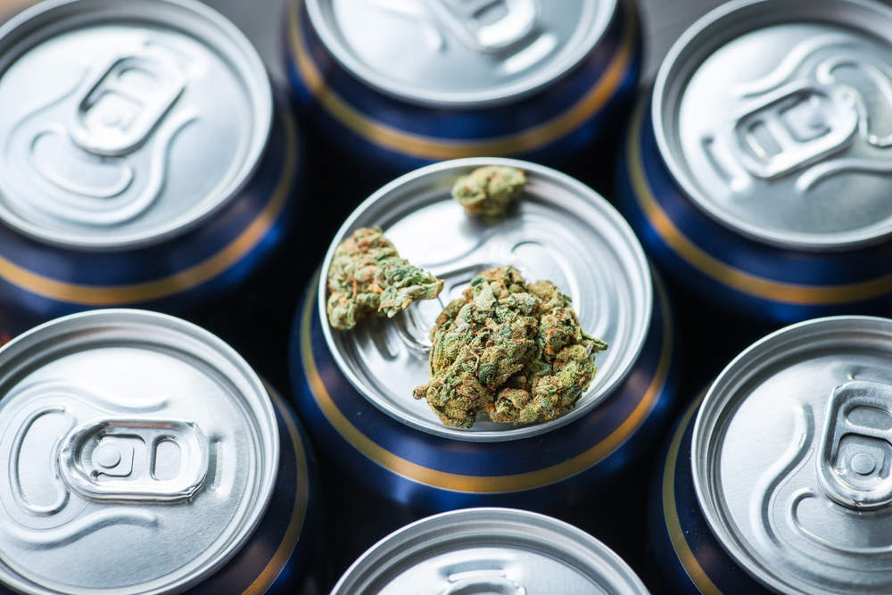 A Canadian company is making the 'world's first' beer brewed entirely from cannabis ?