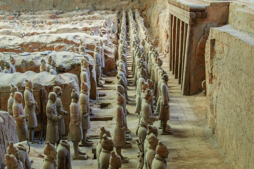 China's Terracotta army is on the march - Verdict