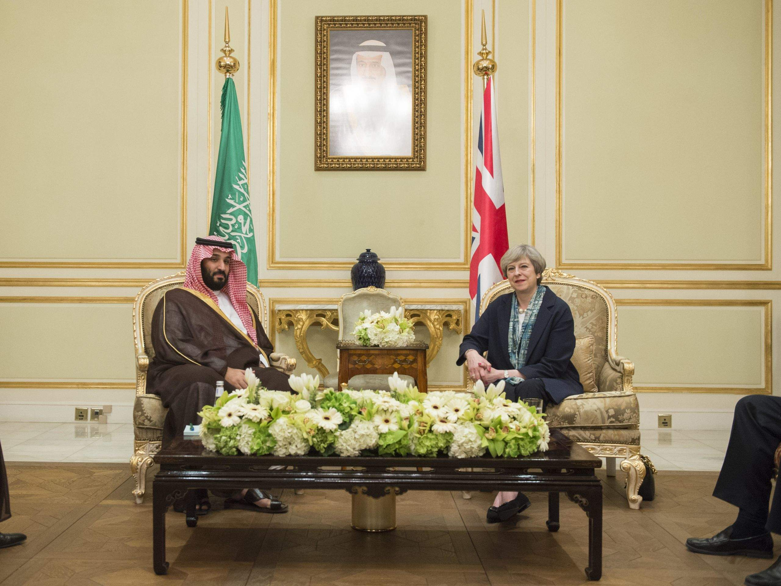 The Saudi Crown Prince gets the red carpet treatment in the UK as protesters take to the streets