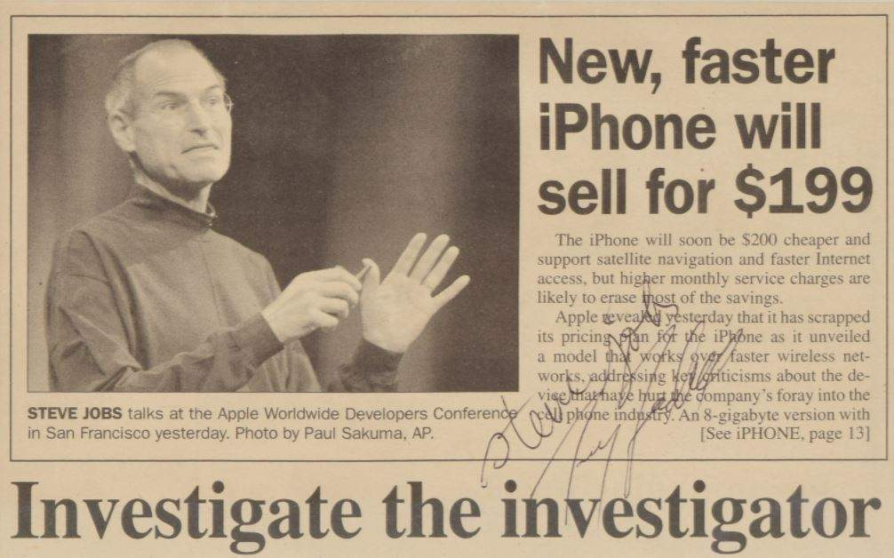Steve Jobs memorabilia - Verdict