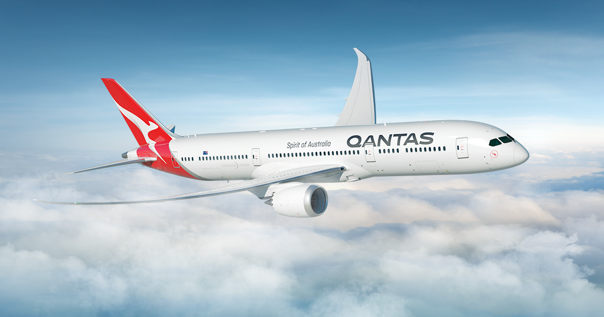qantas perth to London