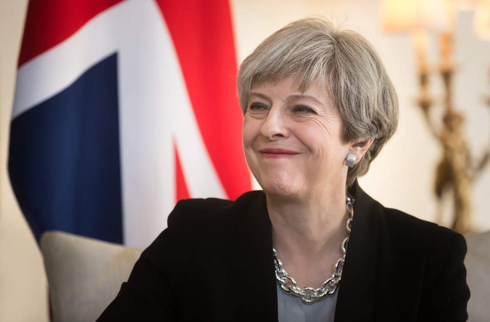 Theresa May jokes