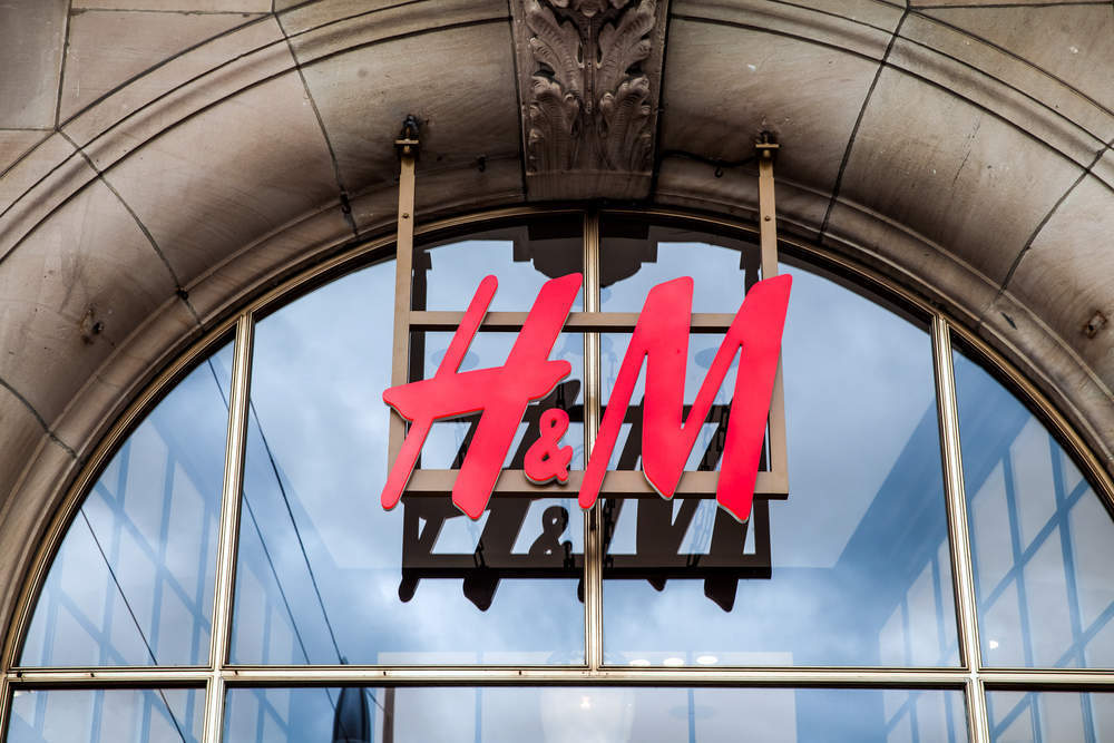 H&M share price