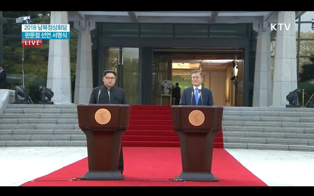 North and South Korea have taken their first tentative steps towards peace