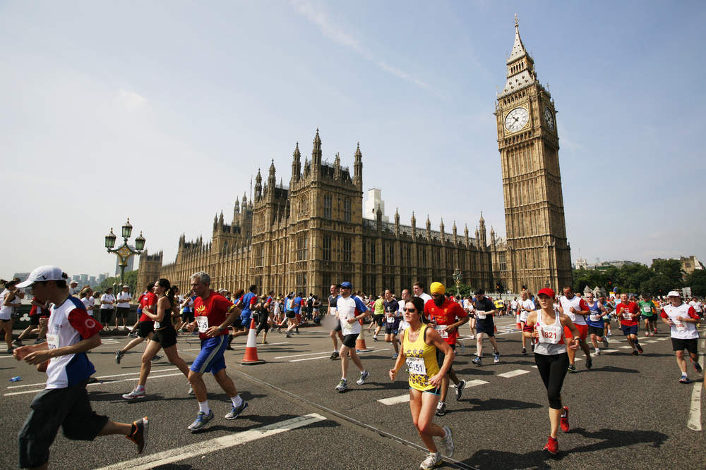 London Marathon: The race has now raised over £900 million in its 38 year history