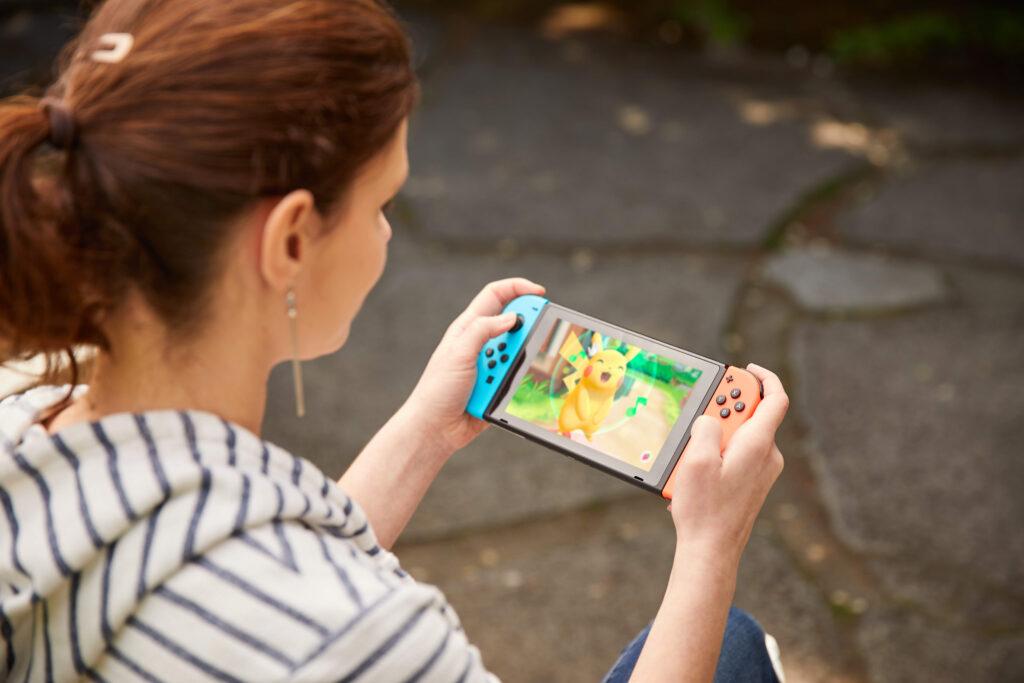 Pokémon Let's Go Nintendo stock price