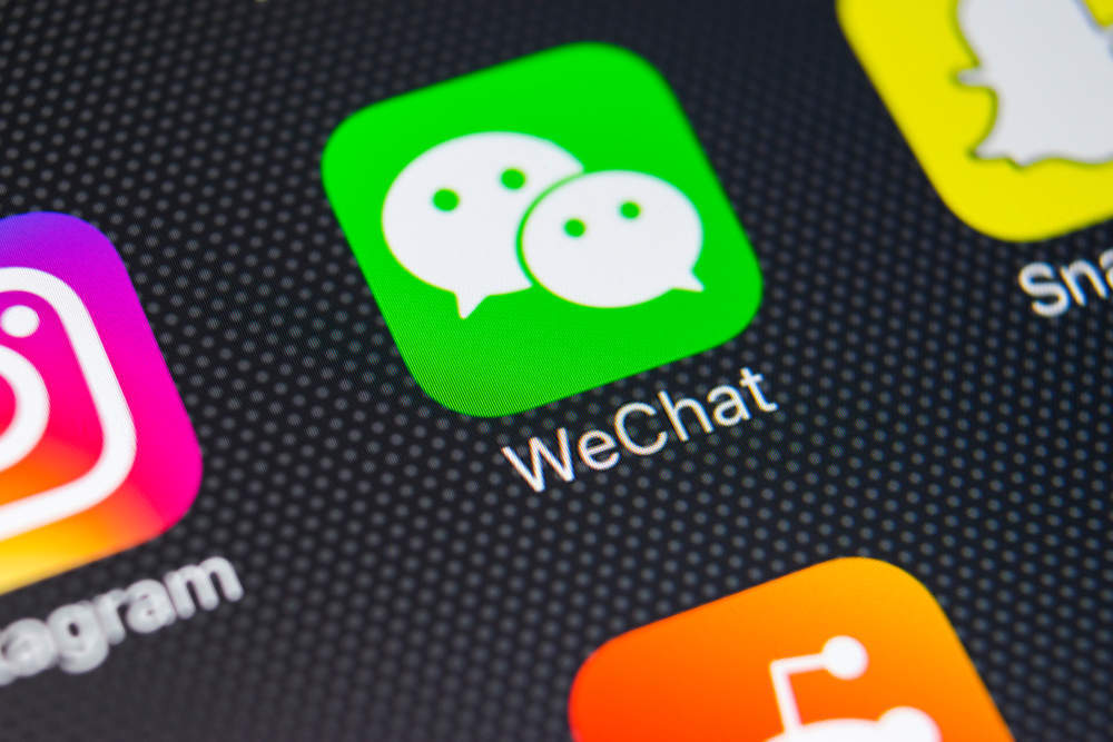 Tencent share price
