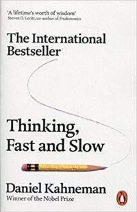 Business books: Thinking, Fast and Slow by Daniel Kahneman