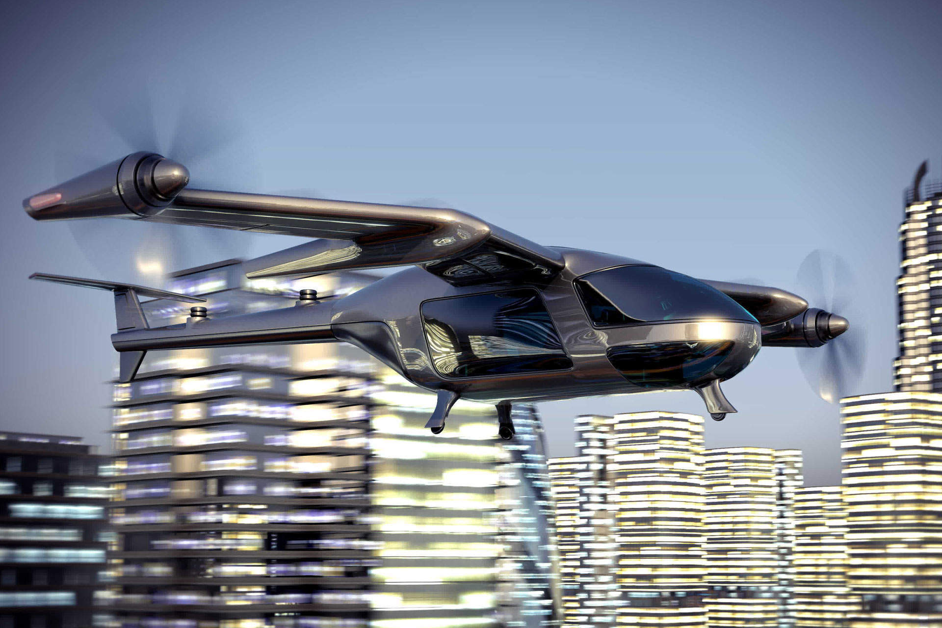 Could drone taxis take off? One expert gives his views