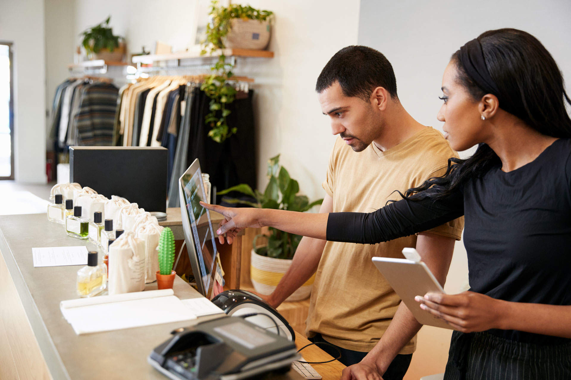 Using consumer-esque retail technology to empower employees