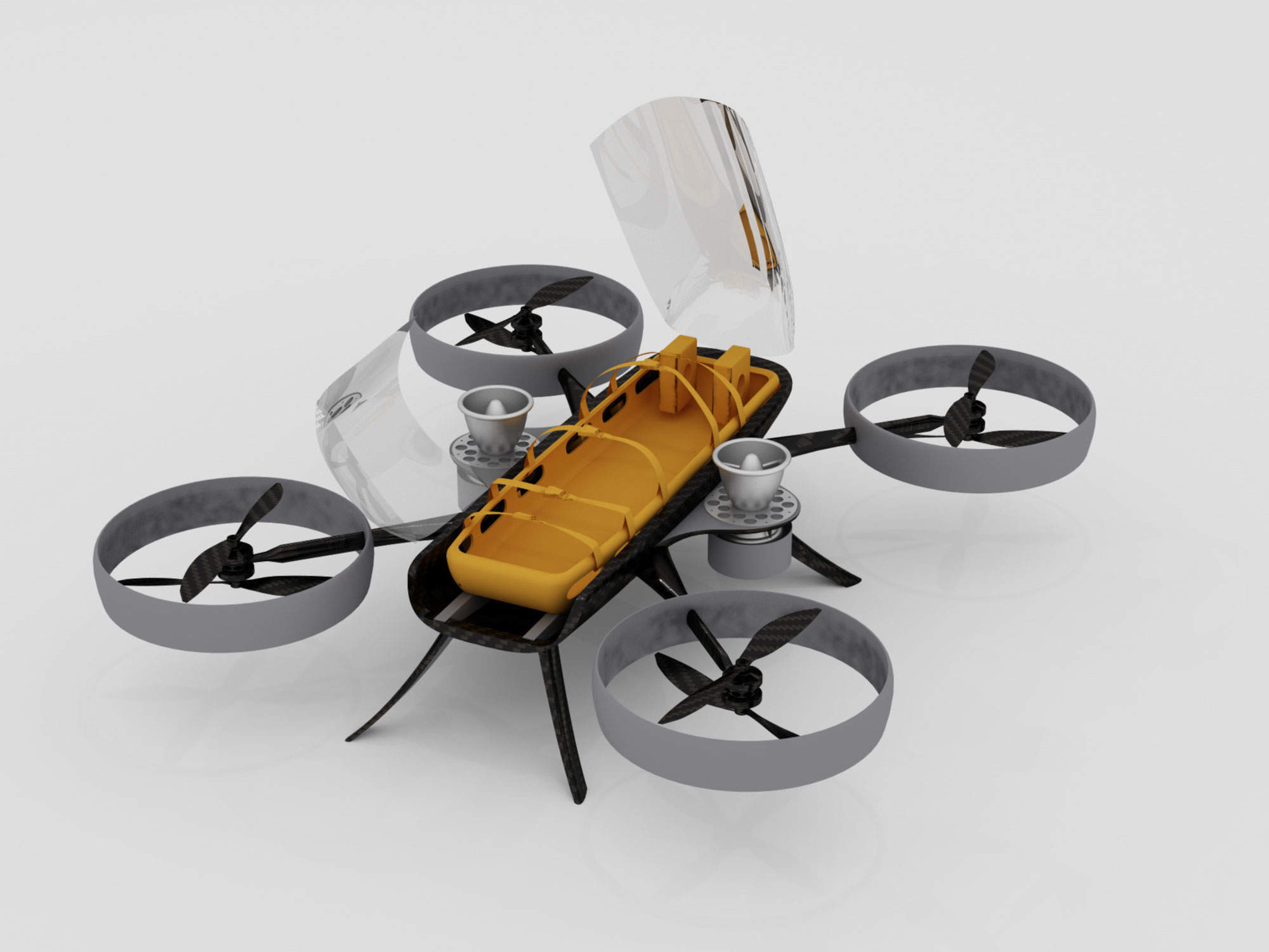 Autonomous drone ambulance wins development funding