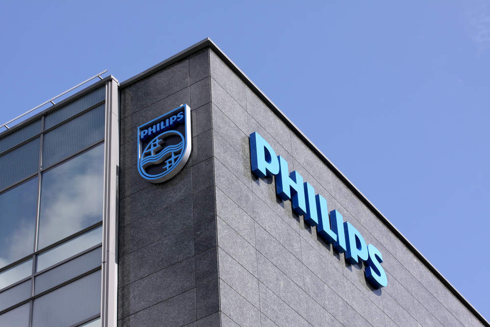 Philips share price drop