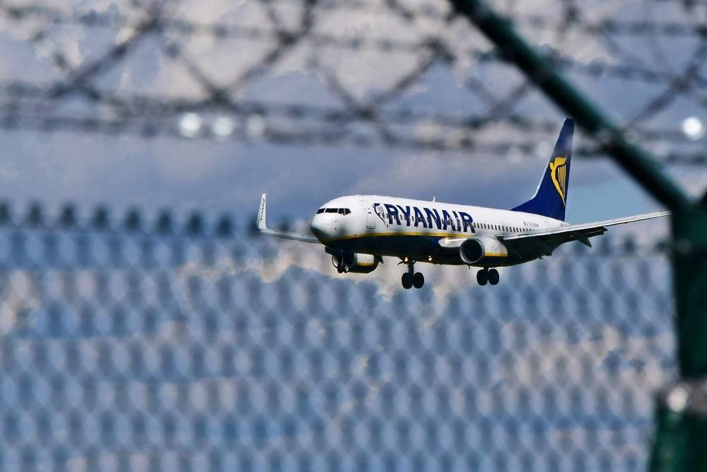 Ryanair share price