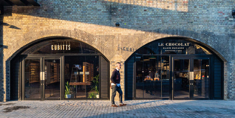 Coal Drops Yard, a retail destination in Kings Cross