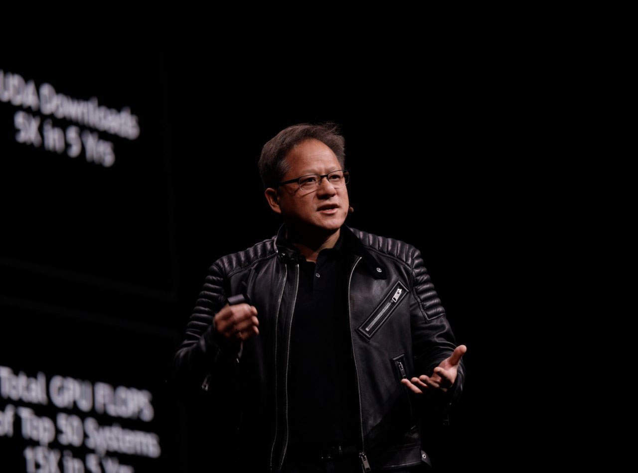 Nvidia CEO Jensen Huang on automation