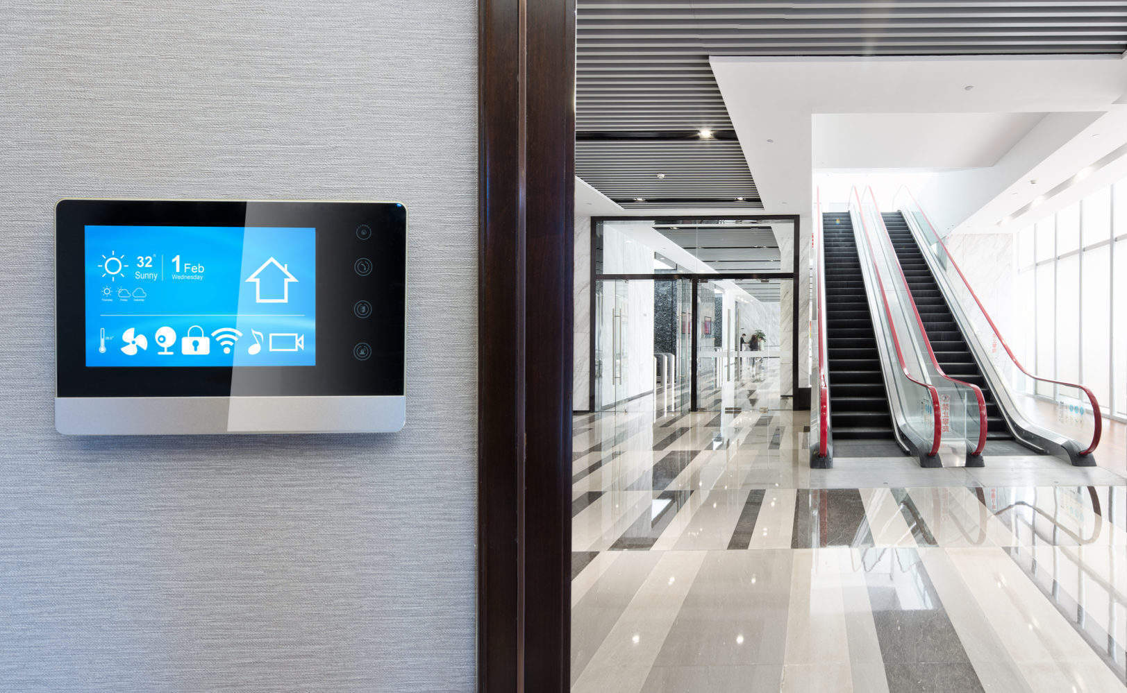 The smart office of the future: Using technology to maximise visitor experience