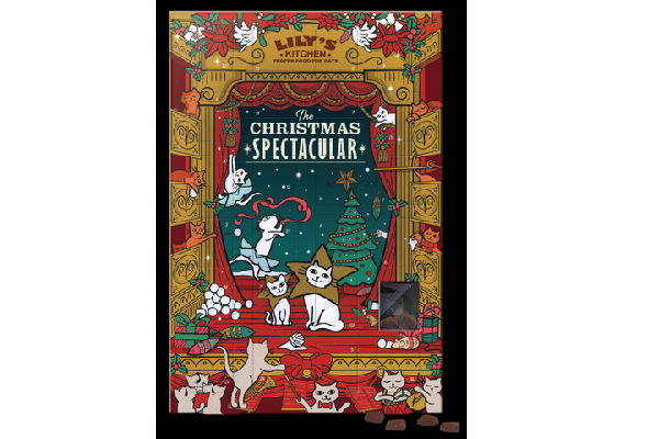 Unusual advent calendars for 2018: cat treats