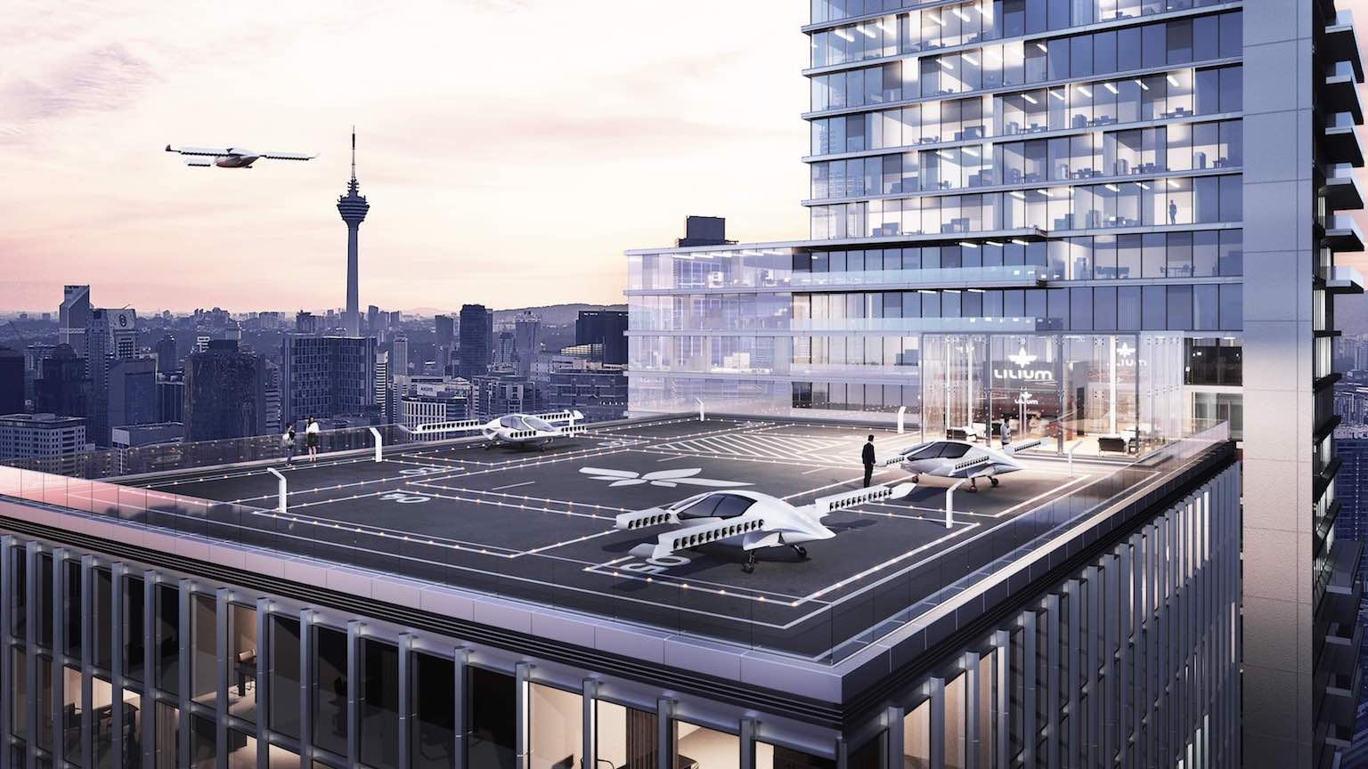 Lilium cements drone taxi ambitions with Airbus and Audi hires