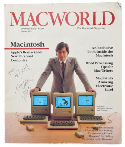 Steve Jobs auction