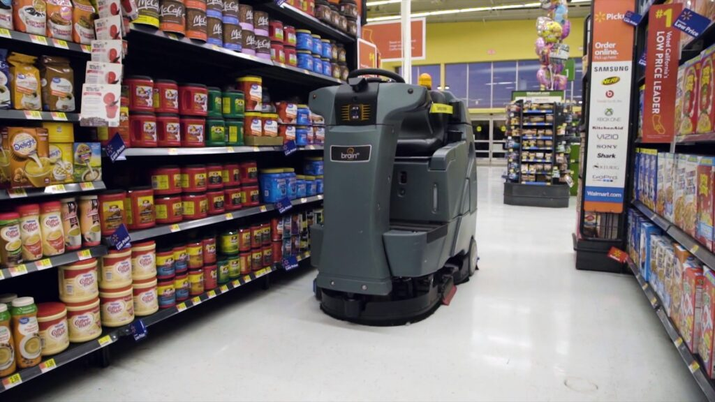 Walmart adds robots to automate in-store cleaning