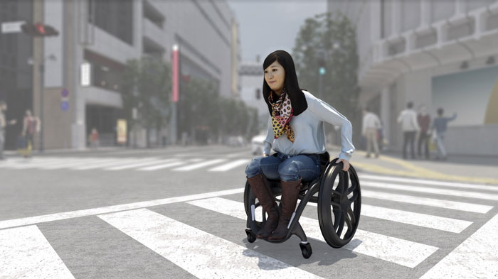 lower limb paralysis AI wheelchair