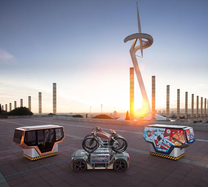 Modular driverless car microSNAP