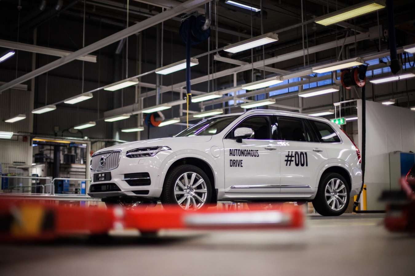 Volvo self-driving cars Zenuity
