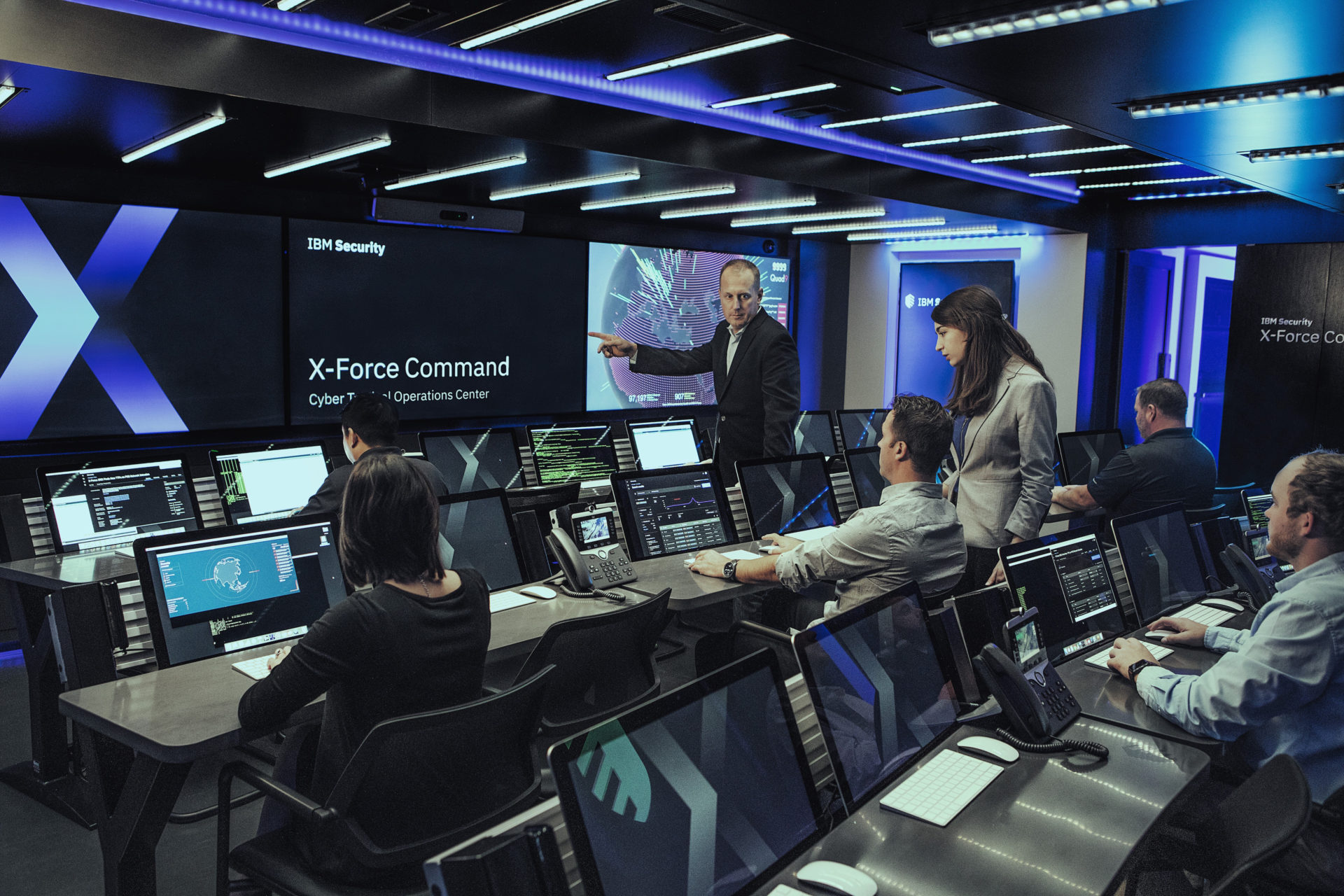 Watch: How IBM's hyper-realistic Cyber Tactical Operations Center is simulating cyberattacks