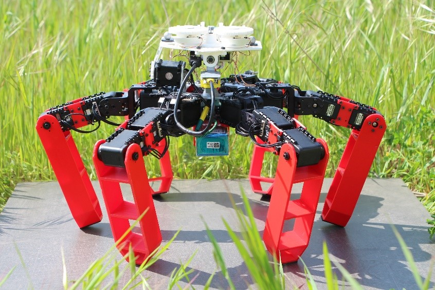 AntBot, the ant-inspired robot.