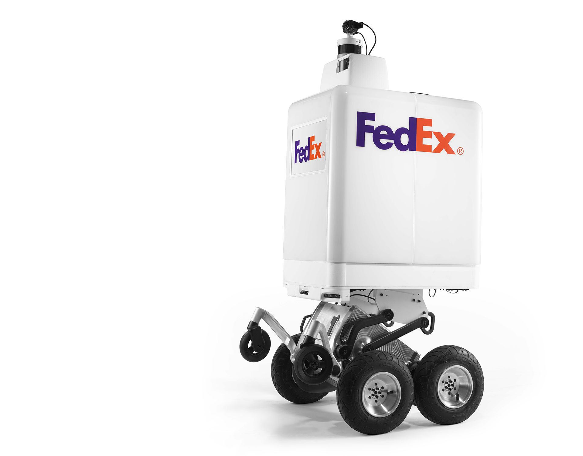 FedEx delivery robot sees courier giant join the last-mile automation race