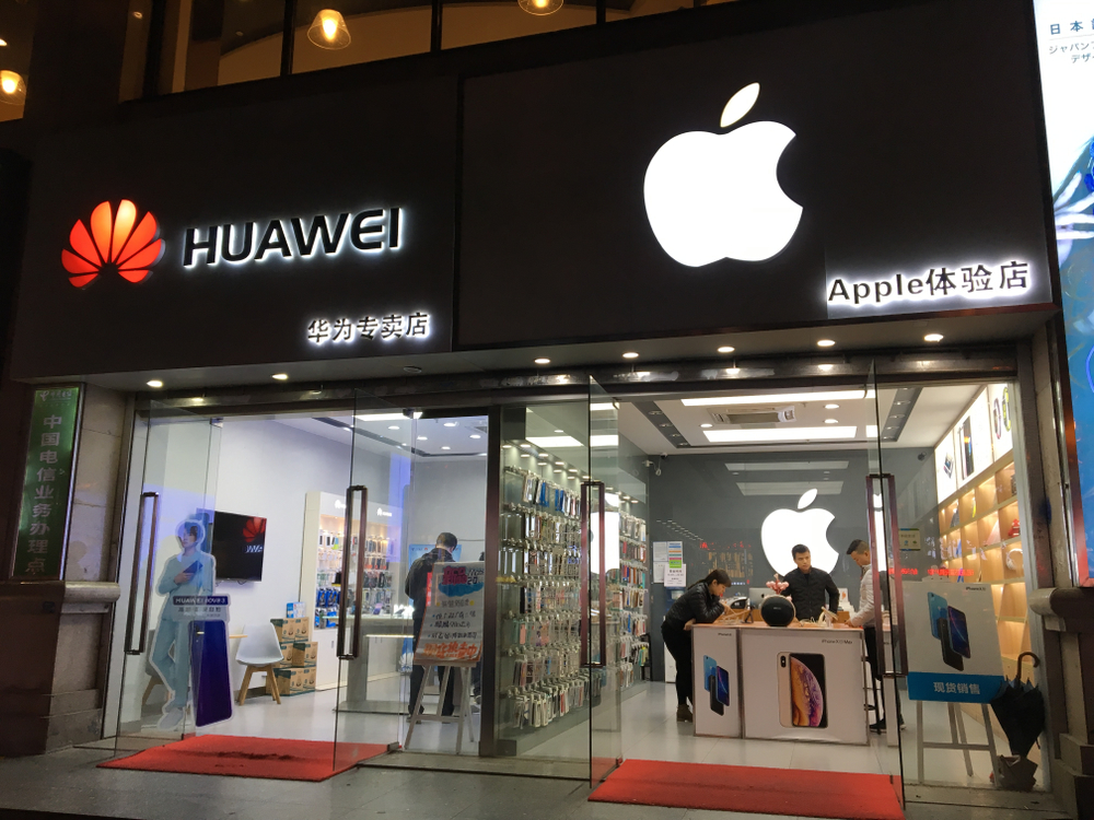 Apple and Huawei