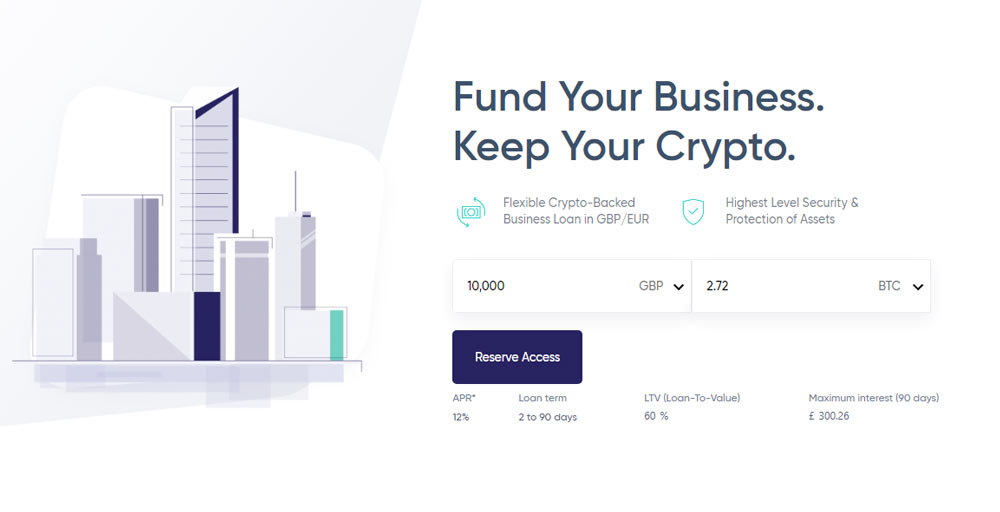 how cryptocurrency loans work