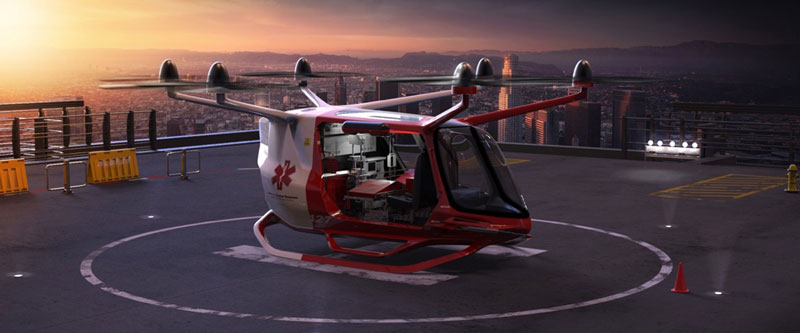 Flying cars of the future: Skai