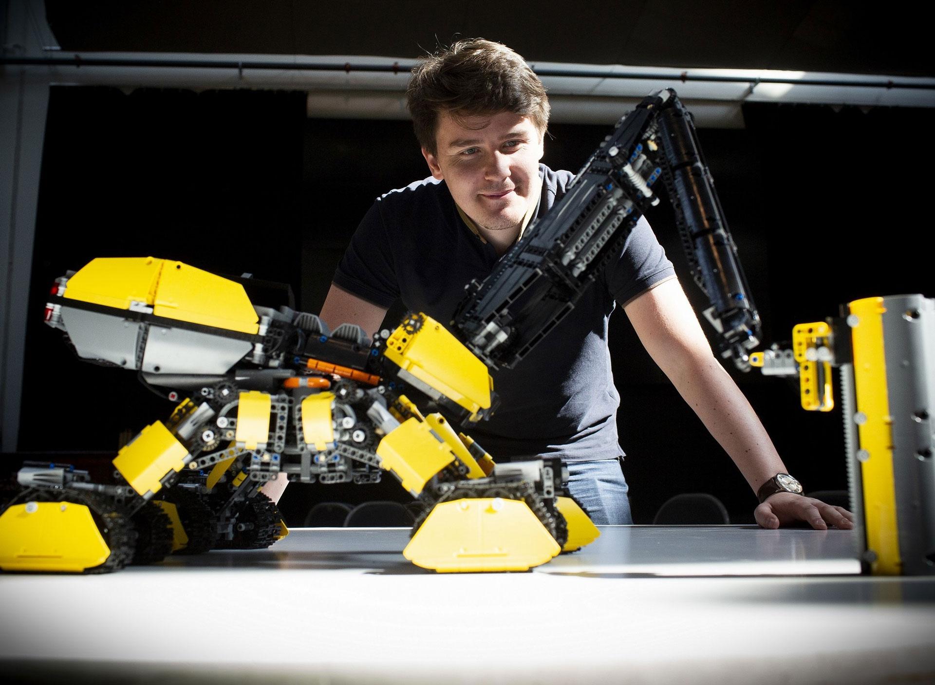 future construction machines LEGO