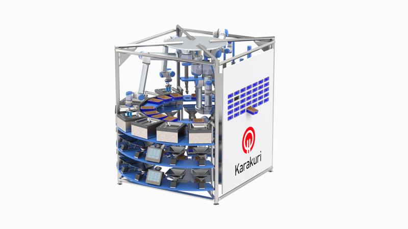 Karakuri restaurant robot