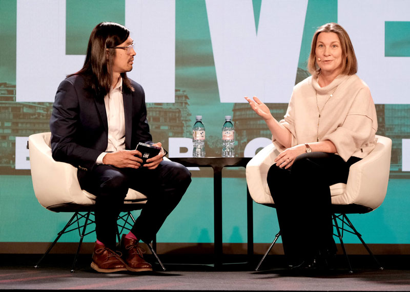 Technology conference gender balance