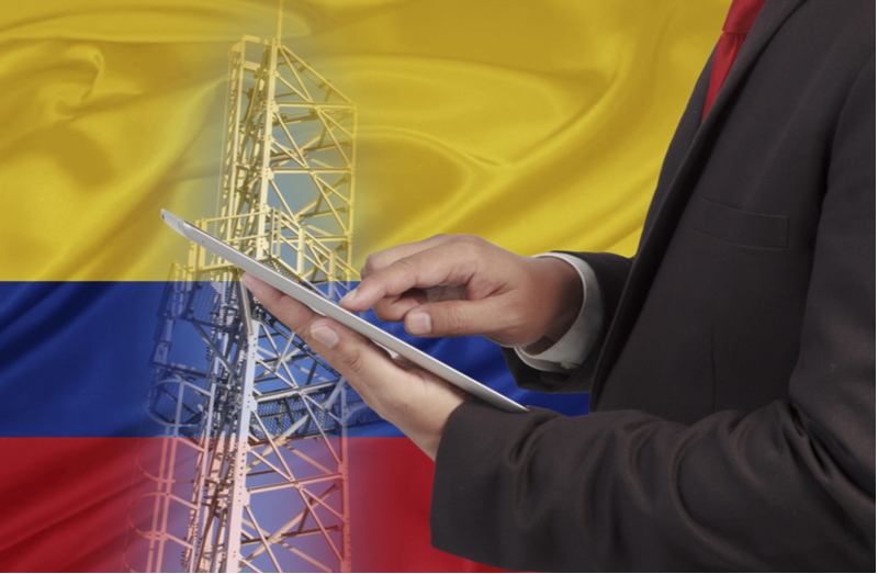 Colombia telecom expansion