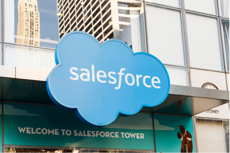 What does Salesforce bring to blockchain?