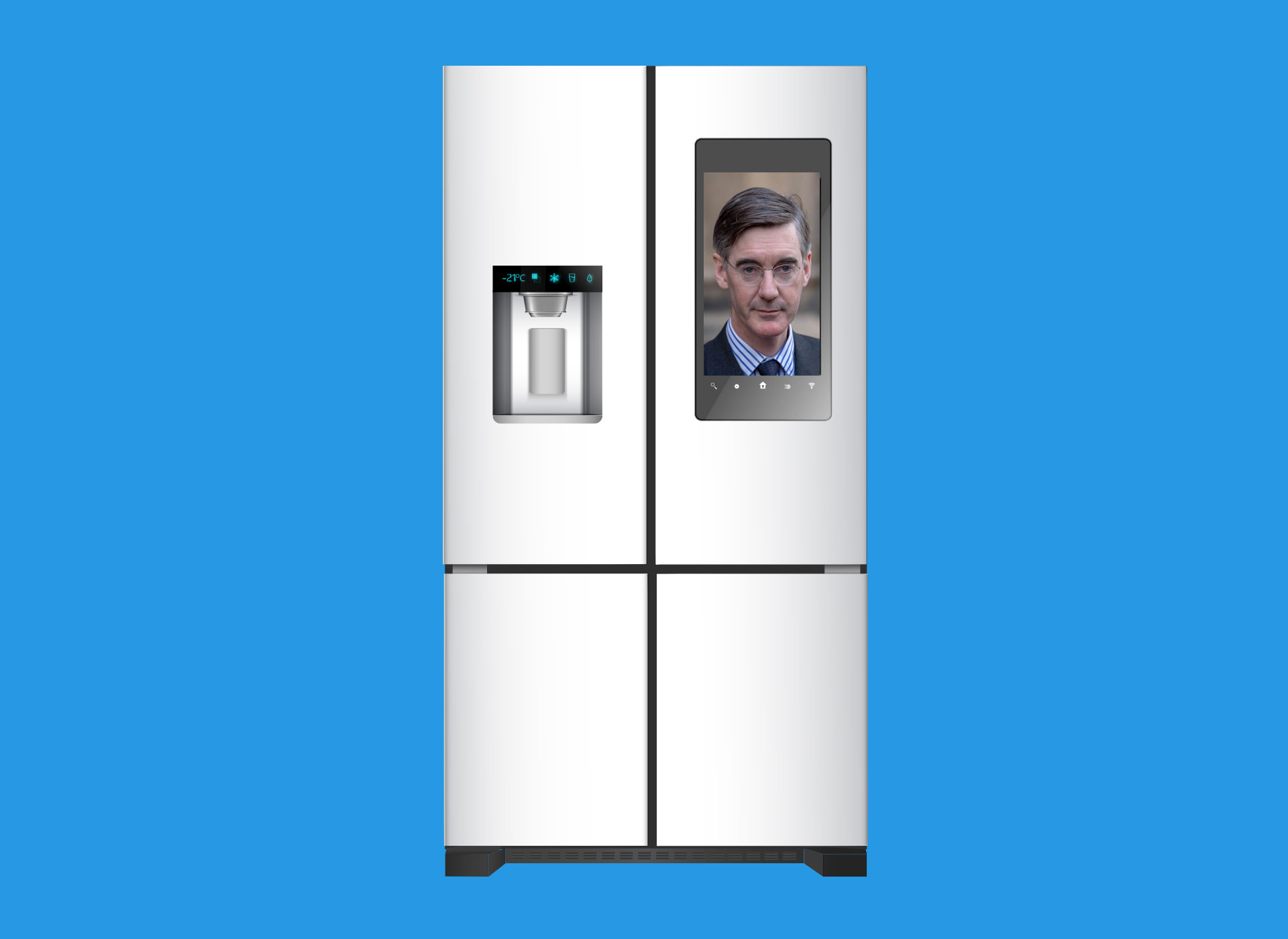 Smart fridge elections: When Jacob Rees-Mogg campaigns next to your milk