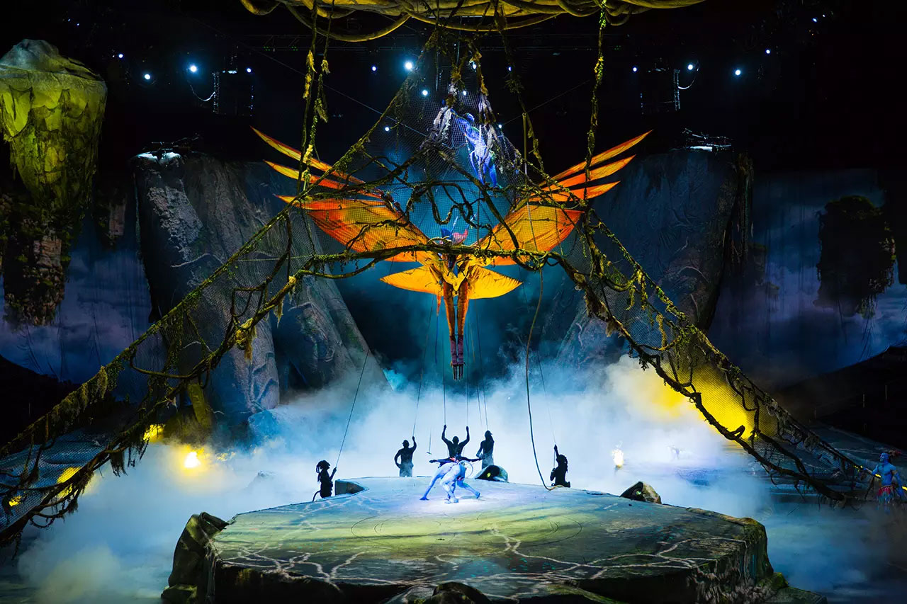 Cirque du Soleil Mobile App Toruk
