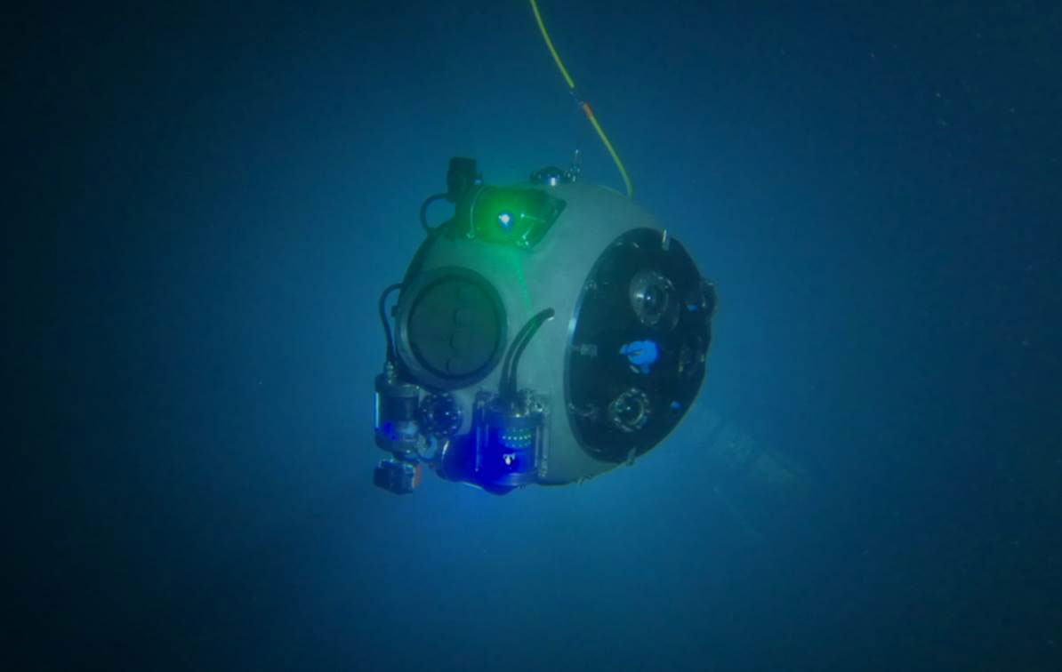 Underwater robot to seek out viable mine sites