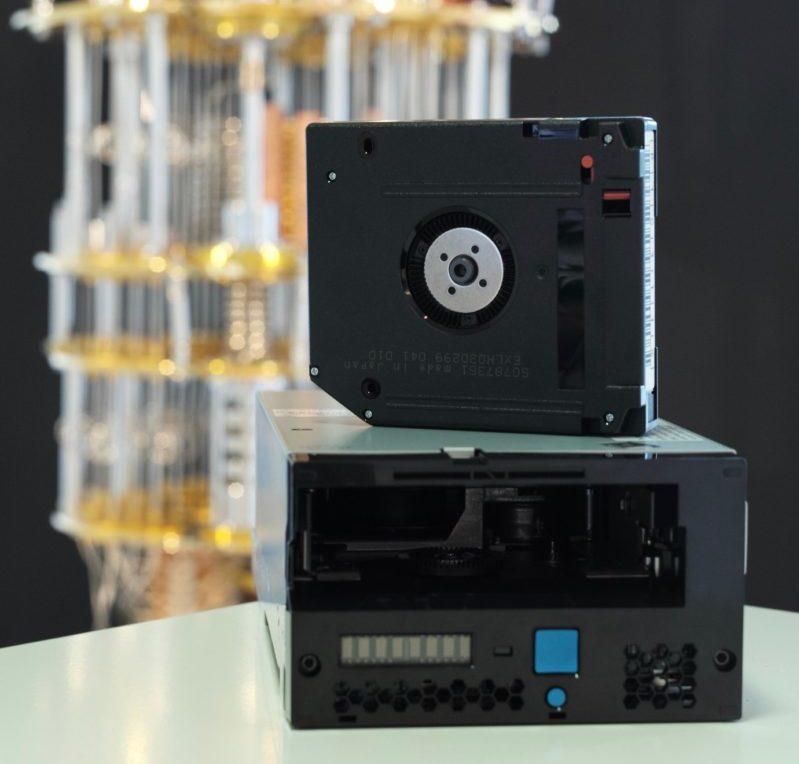 quantum-safe tape drive