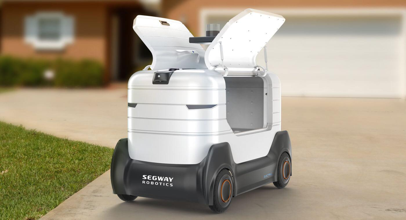 Segway-Ninebot challenges Starship with delivery robot launch