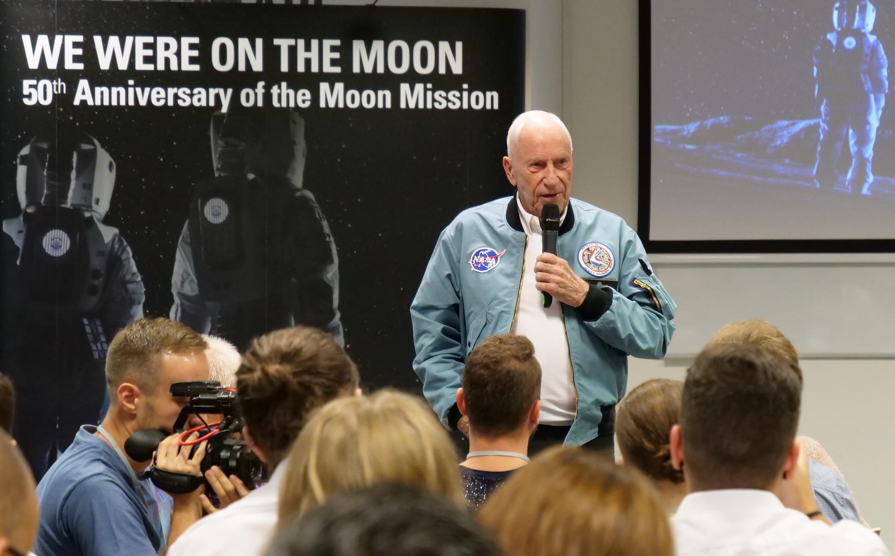 Apollo 15's Al Worden on Mars, space race 2.0 and astronaut humour