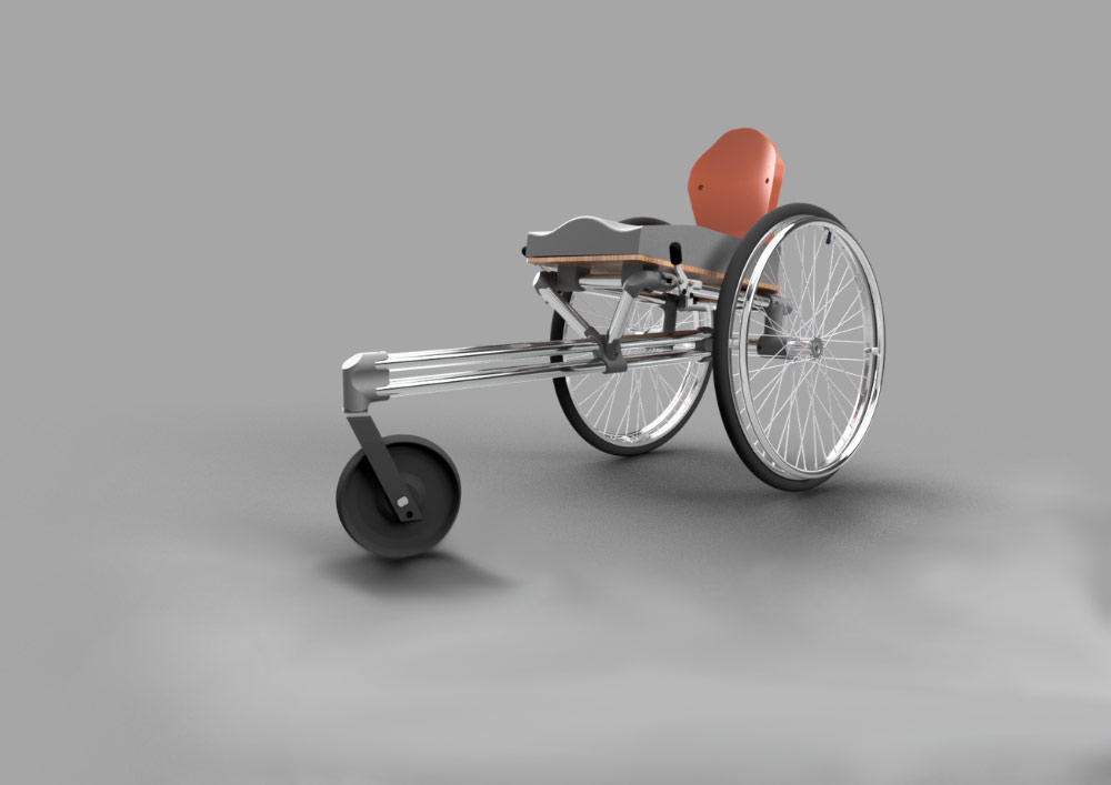 3D printed wheelchairs