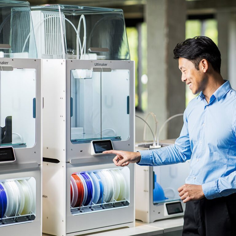 A collaborate community: The business case for 3D printing