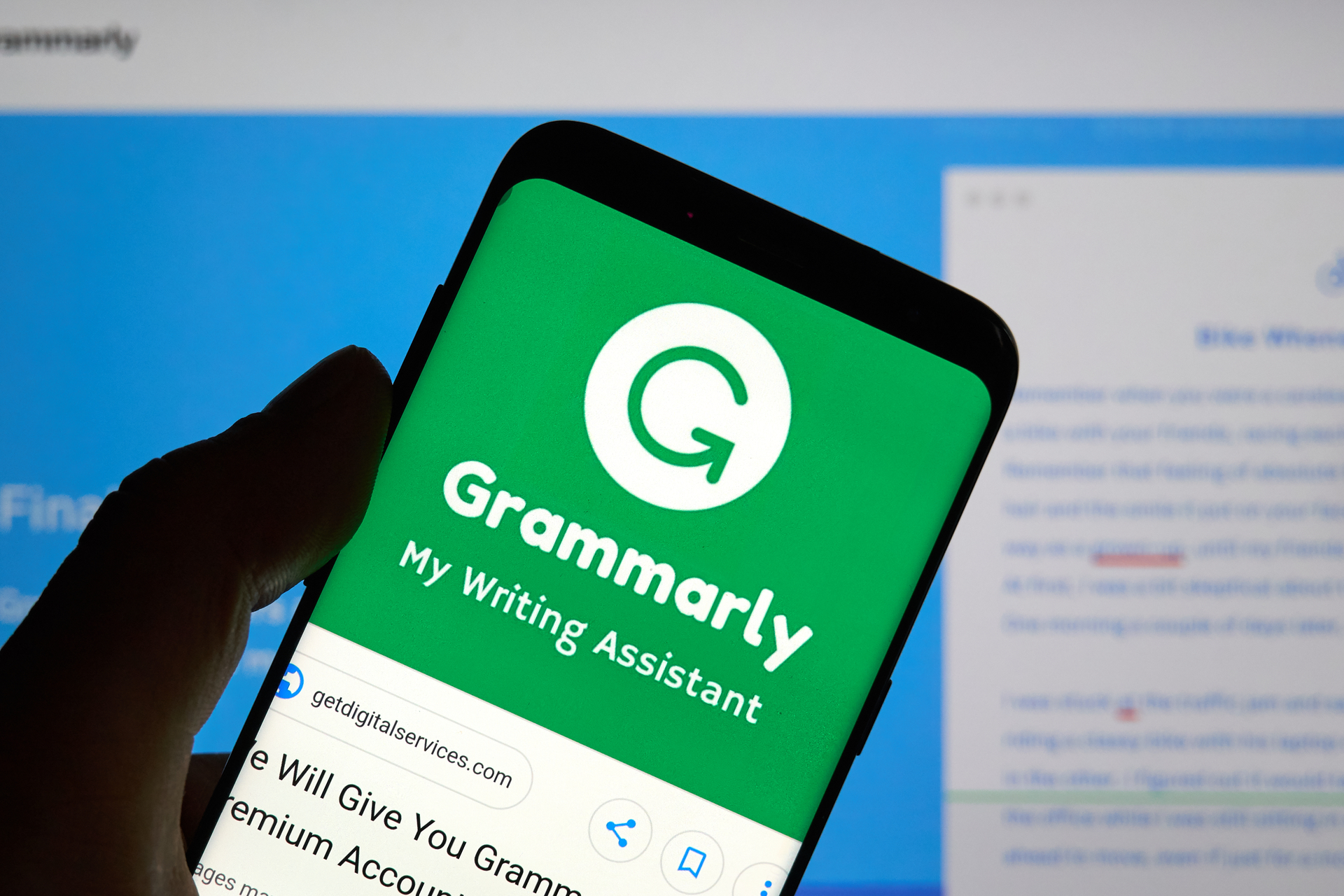 AI-based spell checker Grammarly raises $90m to take value above $1bn