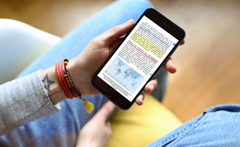 Perlego subscription e-reader