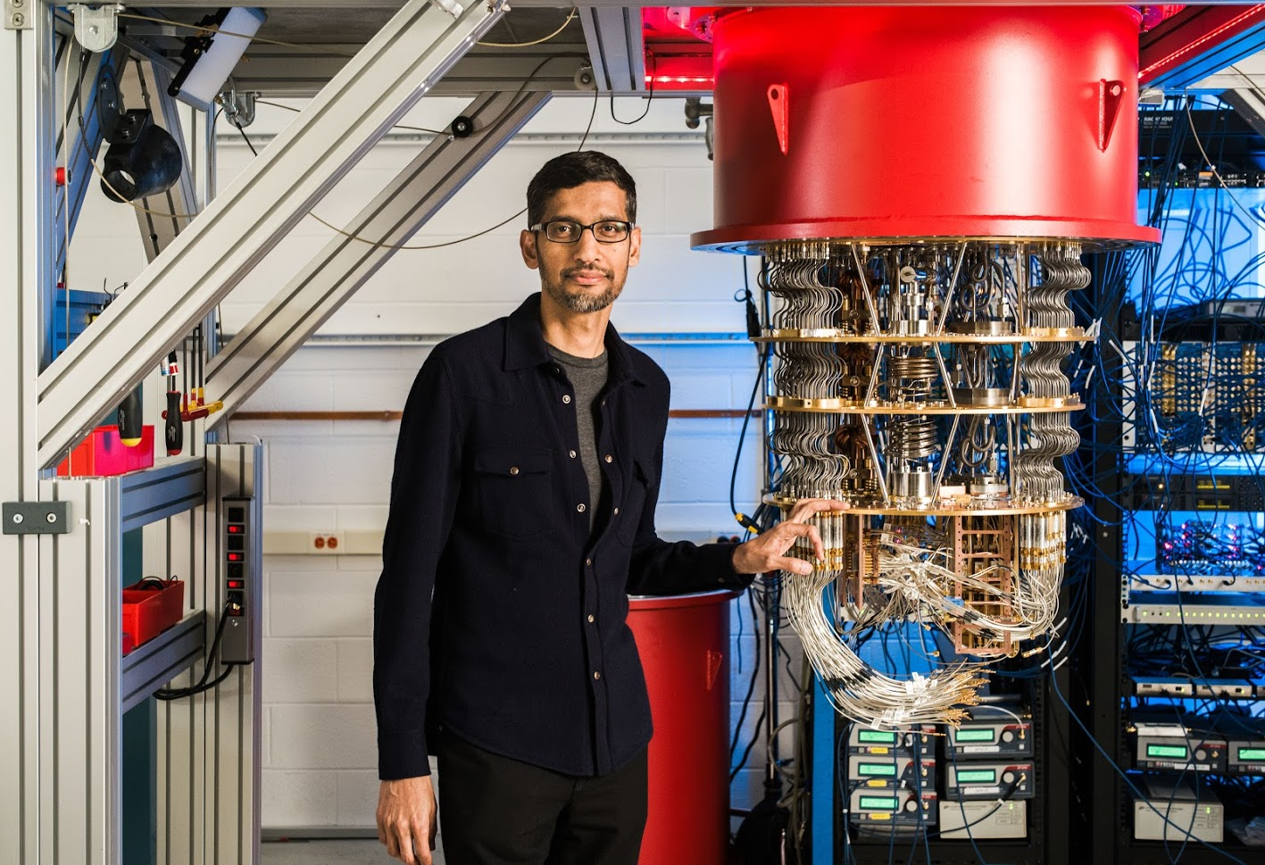 Sundar Pichai AI Google CEO
