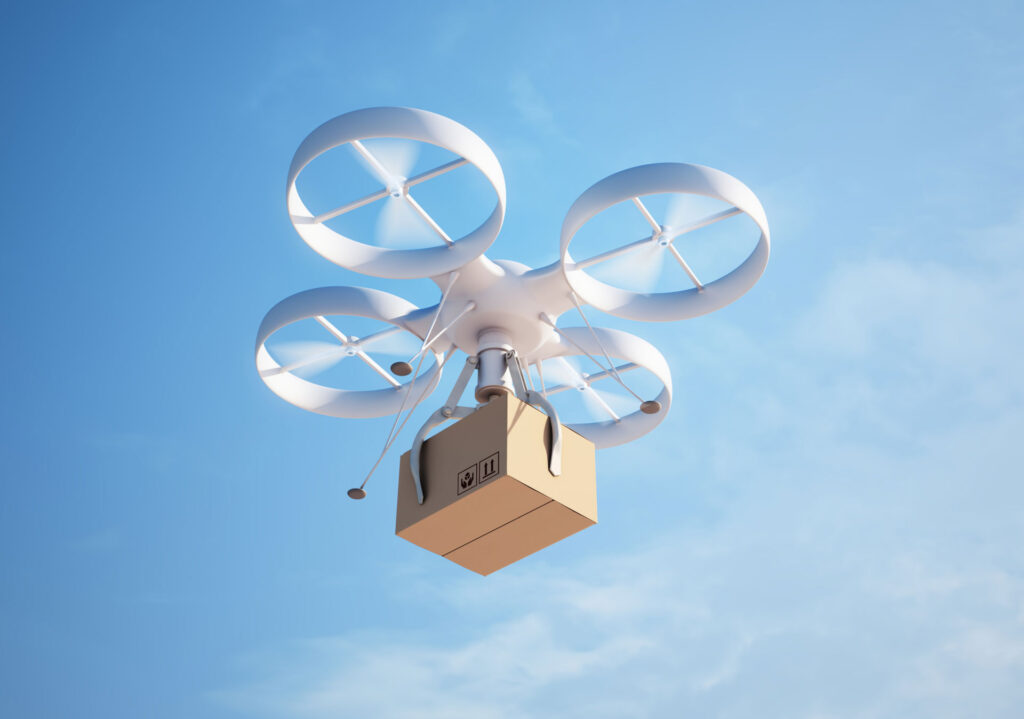 Could the coronavirus pandemic see drone deliveries take off?